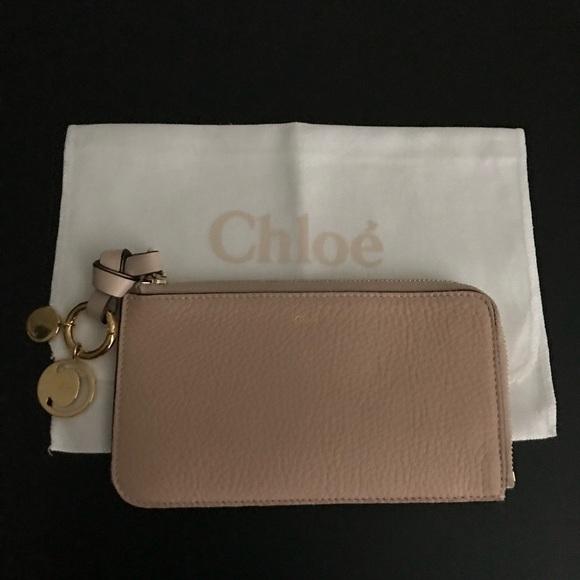 0a54bc58b6 Chloe Alphabet Zip-around coin purse
